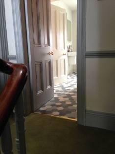 Drumcondra Hallway to Bathroom Sherrard Design