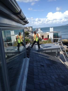 Dalkey Consrtuction Phase Exterior Sherrard Design