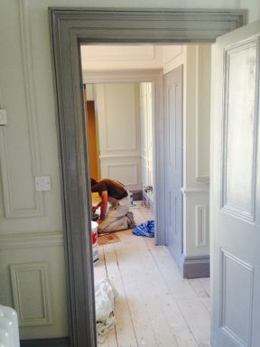 Dalkey walk in wardrobes under construction