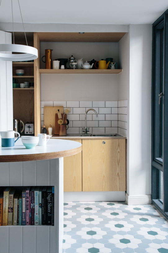 Drumcondra Kitchen with plywood Sherrard Design