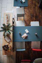 Table Homan's Kitchen Cafe Sherrard Design
