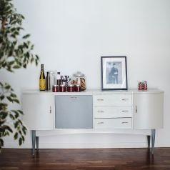 Upcycled furniture Homan's Kitchen Cafe Sherrard Design