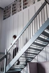 Staircase to Mezzanie Homan's Kitchen Cafe Sherrard Design