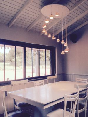 De Vesci Tennis Club interior Sherrard Design
