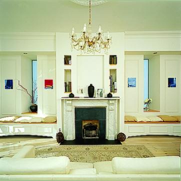 Monkstown Livingroom Built in Seating Sherrard Design