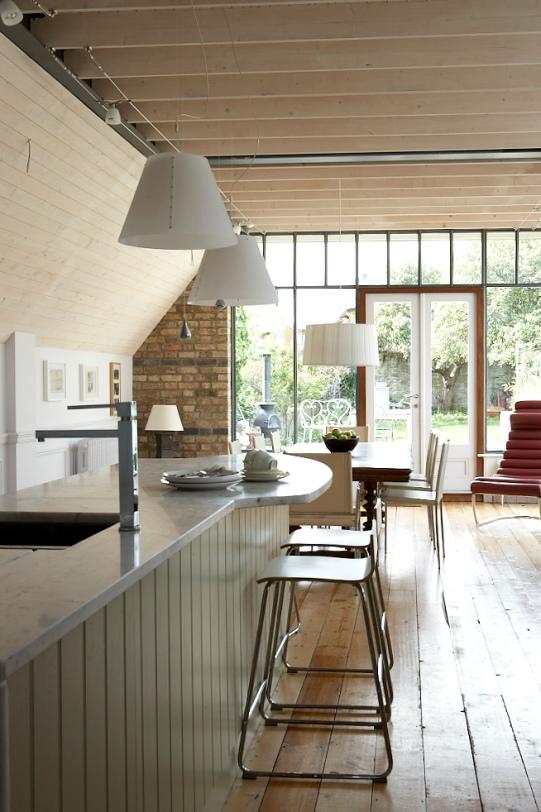 Kitchen Long view Sandycove Sherrard Design