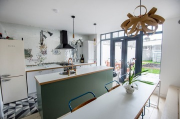 15/03/2018-Property-Kitchen at 73 York Road, Dunlaoghaire.Photograph: Brenda Fitzsimons / THE IRISH TIMES