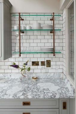 Kitchen Shelf Feature Rathgar Sherrard Design