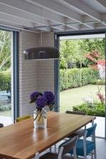 Dining area to garden Rathgar Sherrard Design