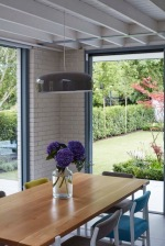 Dining area to garden Rathgar Sherrard Design