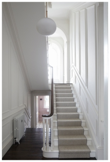 Hall stairs and landing Monkstown III